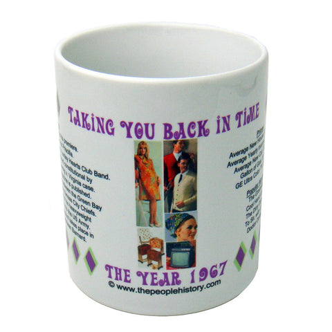 1967 Year In History Coffee Mug