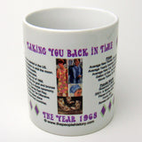 1968 Year In History Coffee Mug
