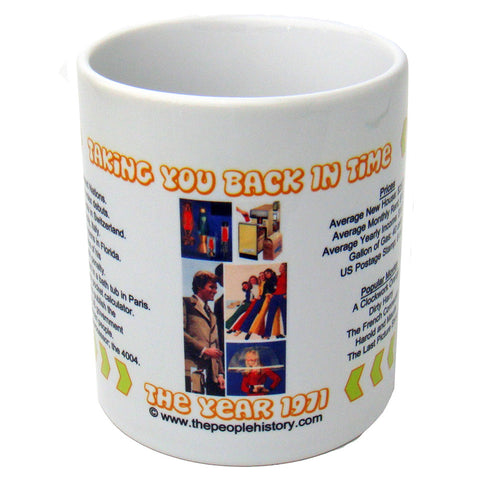 1971 Year In History Coffee Mug
