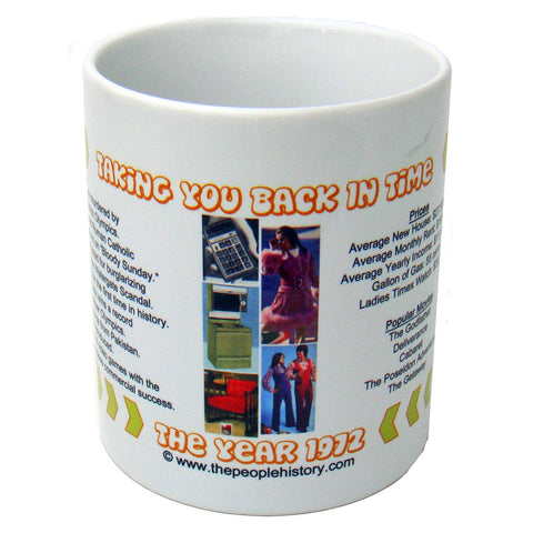 1972 Year In History Coffee Mug
