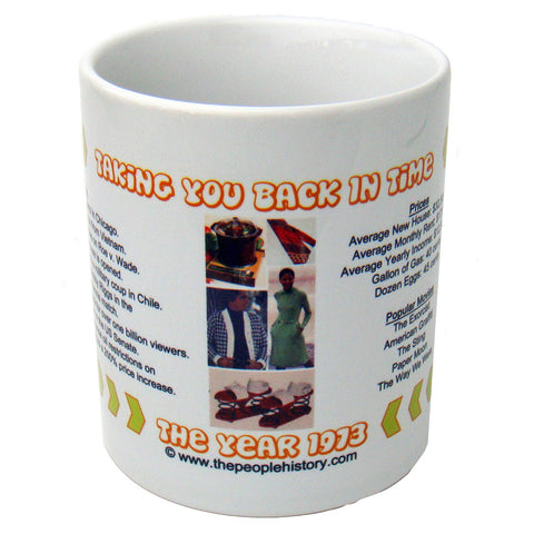 1973 Year In History Coffee Mug