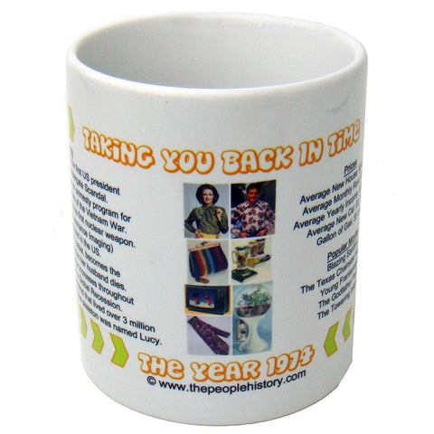1974 Year In History Coffee Mug