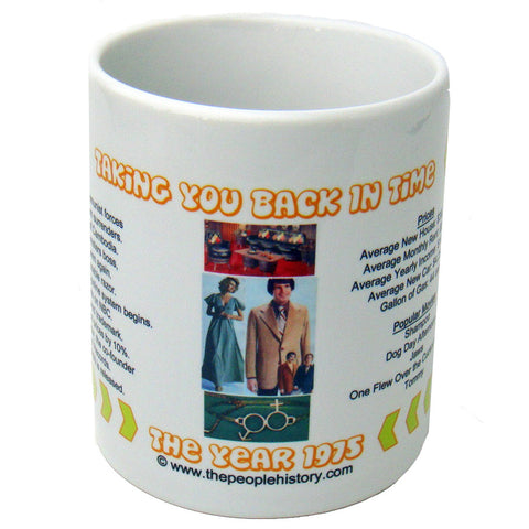 1975 Year In History Coffee Mug