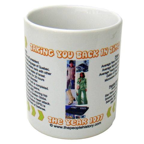 1977 Year In History Coffee Mug