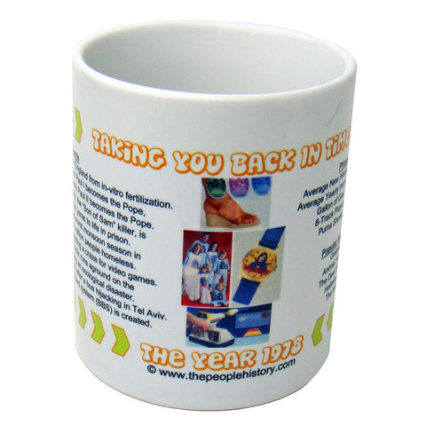 1978 Year In History Coffee Mug