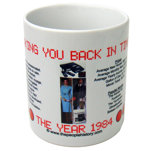 1984 Year In History Coffee Mug