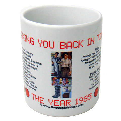 1985 Year In History Coffee Mug