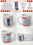 1987 Year In History Coffee Mug with Gift Box