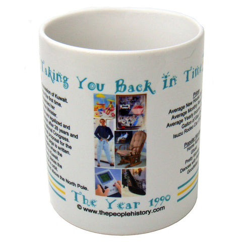 1990 Year In History Coffee Mug