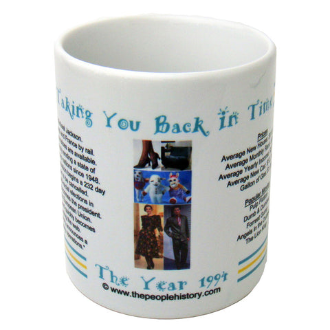 1994 Year In History Coffee Mug