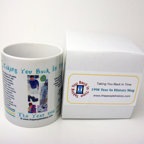 1998 Year In History Coffee Mug
