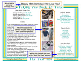 1996 Year In History Personalized Party Favor Birthday Print
