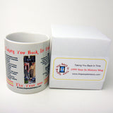 1999 Year In History Coffee Mug
