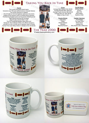 2000 Year In History Coffee Mug with Gift Box