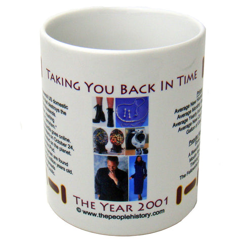 2001 Year In History Coffee Mug