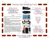 2002 Personalized Year In History Print