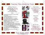 2003 Personalized Year In History Print