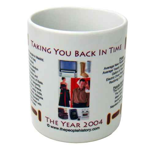 2004 Year In History Coffee Mug