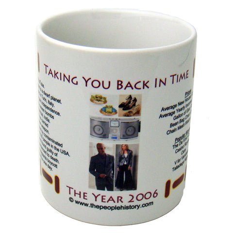 2006 Year In History Coffee Mug