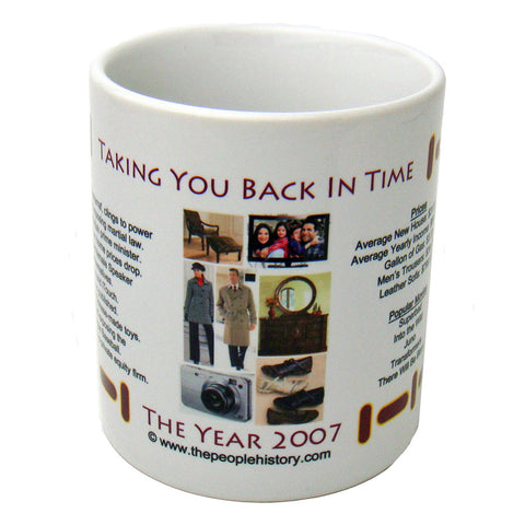 2007 Year In History Coffee Mug