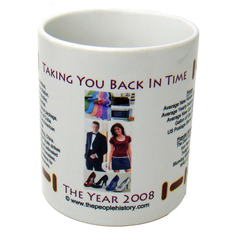 2008 Year In History Coffee Mug
