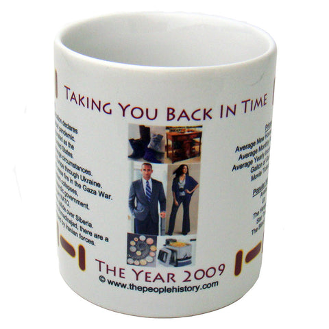 2009 Year In History Coffee Mug