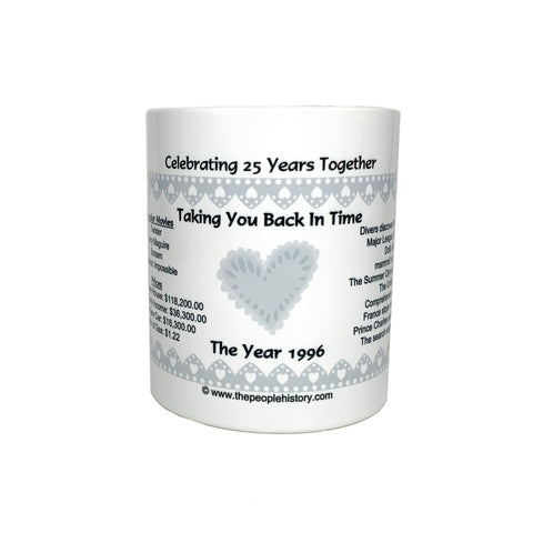 25th Anniversary Coffee Mug