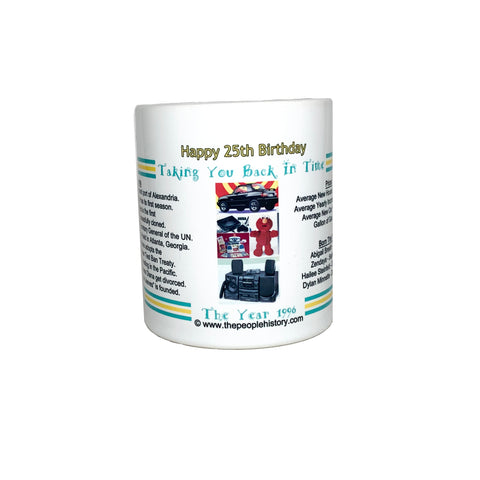 Happy 25th Birthday Coffee Mug