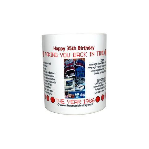 Happy 35th Birthday Coffee Mug