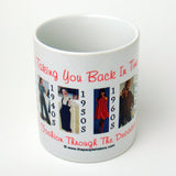 Fashion Through The Decades Mug