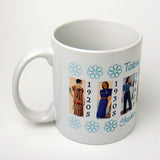 Fashion Through the Decades Coffee Mug