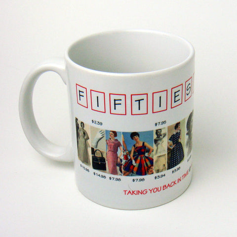 Fifties Fashions Mug