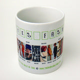 Sixties Fashion History Coffee Mug
