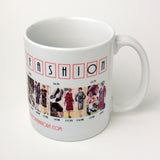 Twenties Fashion History Coffee Mug
