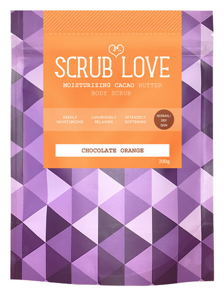 Cacao Scrub <br> Chocolate & Orange