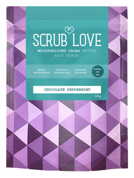 Cacao Scrub <br> Chocolate & Peppermint