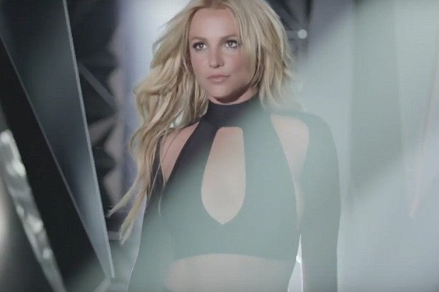 Britney Spears in BOSSA's Catania Crop Top Available at Naked BodyZ