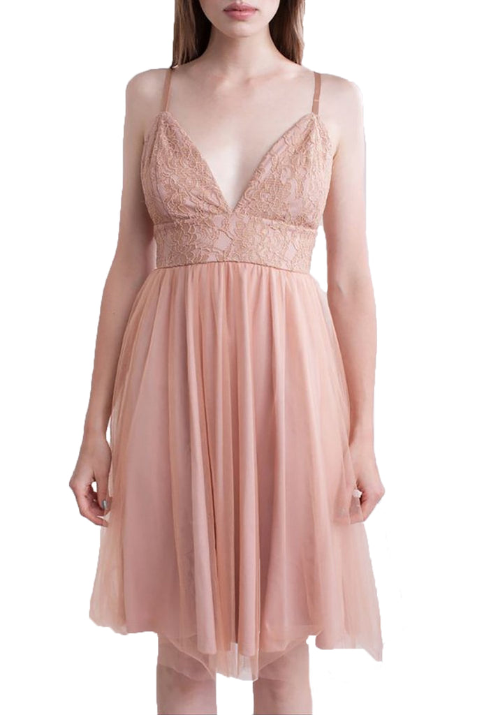 Bee Daring Cami Lace Dress