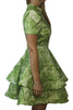 CQ by CQ Green Paisley Dress