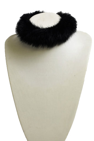 Chocolate Fur Choker