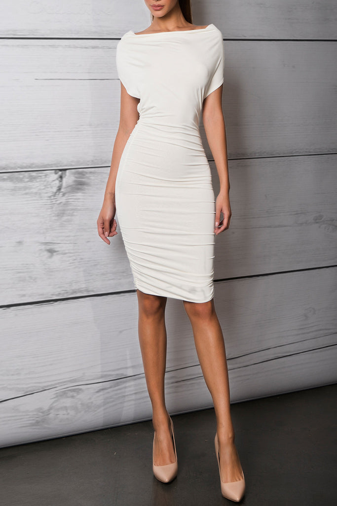 Savee Couture Scoop Neck Dress