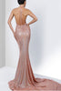 Savee Couture Sequin Maxi-Dress