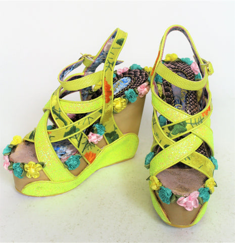 Irregular Choice Heels Bee Kini