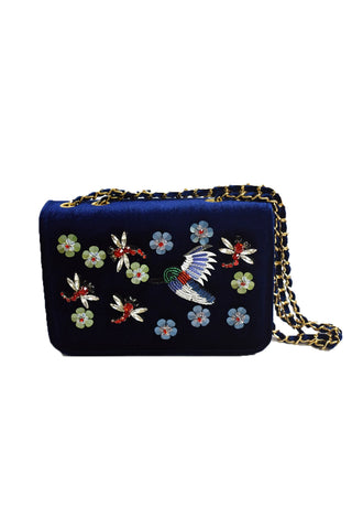 Inzi Hummingbird Purse