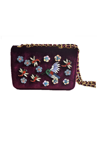 Inzi Purses Hummingbird Plum