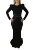 Zhivago Dress Black