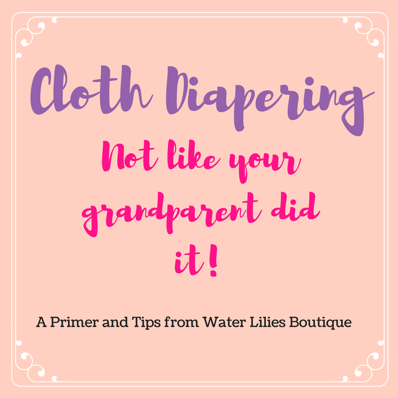 Cloth diapering- not like your grandparents did it!