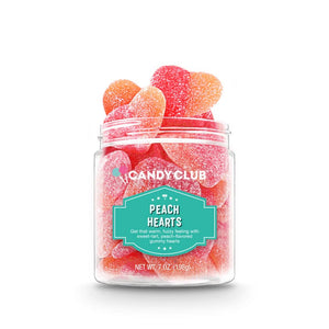 Candy Club Peach Hearts