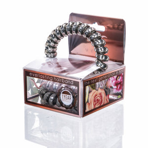 Vere - Steel Blush Hair Tie & Bracelet Set