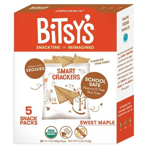 Bitsy's Sweet Maple Smart Crackers